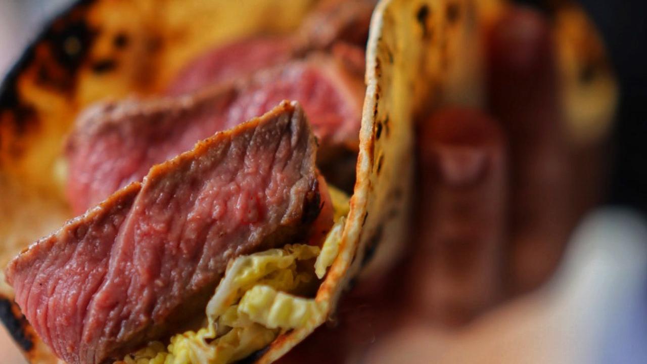 Japanese Steak Tacos
