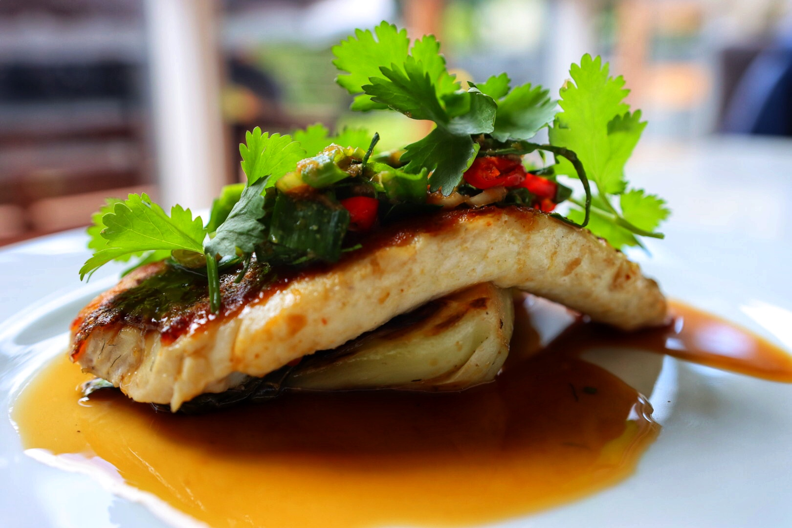 Cooking Thai Fish